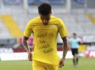 futbolistas en todo el mundo apoyan protestas por floyd