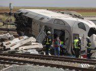 dos fallecidos en accidente de tren en noroeste de espana
