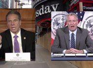 el gobernador de nueva york ataca al alcalde bill de blasio, tambien democrata, por saqueos