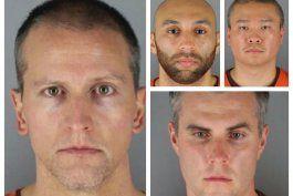 los 4 ex agentes involucrados en muerte de george floyd ahora enfrentan cargos