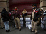 organilleros mexicanos reciben despensa y ayuda en pandemia