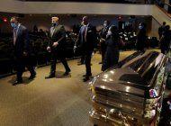 las imagenes del funeral de george floyd