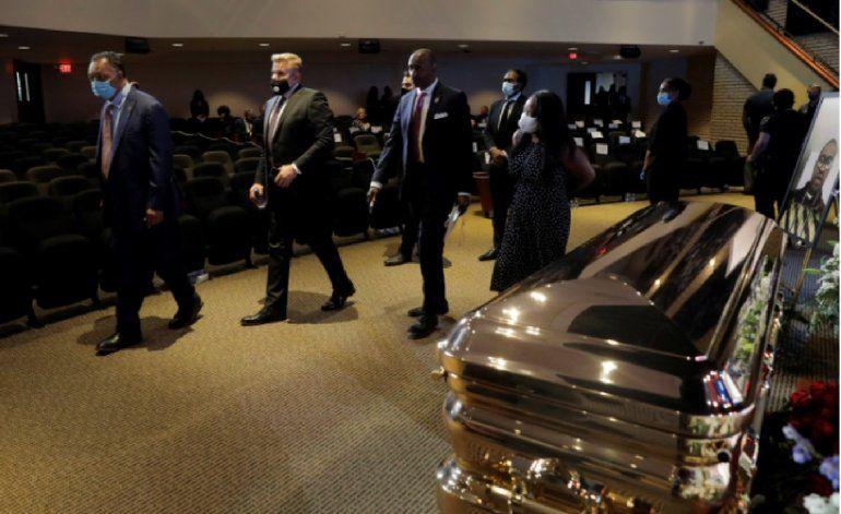 Las imágenes del funeral de George Floyd