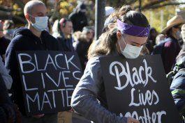 protestas pacificas de black lives matter en australia