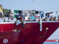 malta recibe a cerca de 400 inmigrantes varados en el mar