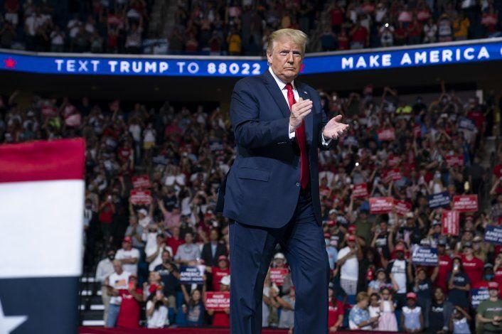 El mitin de Trump le da a Fox News la audiencia más grande de un sábado por la noche en su historia