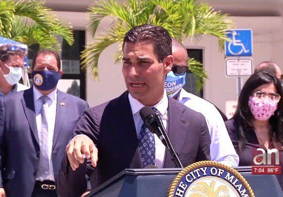 Espiral de casos en Miami:  2,916 nuevos casos adicionales