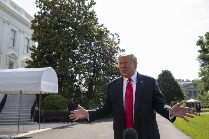 Presidente Trump defiende su derecho de nominar un nuevo juez