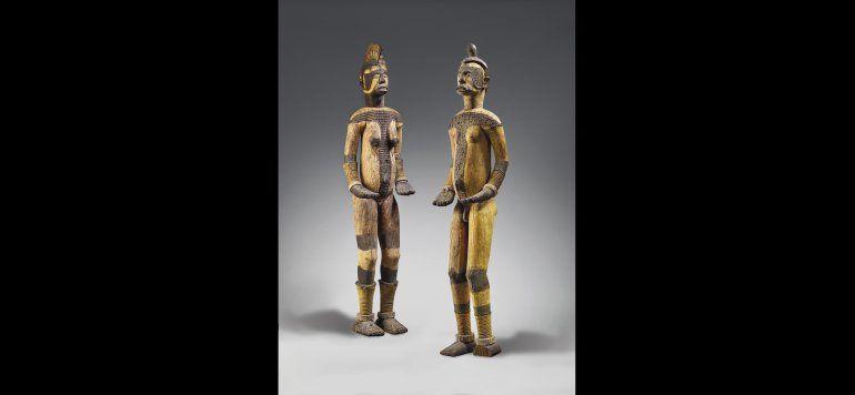 Subasta de esculturas sagradas africanas es criticada