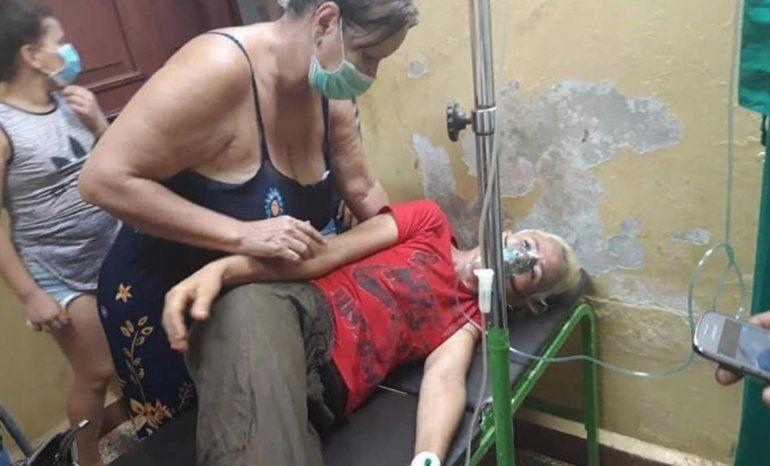 Liberan a agresor de mujer en La Habana: su ex pareja le dio una brutal golpiza con un tubo
