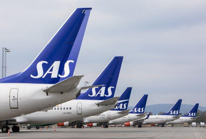 Scandinavian Airlines recibe paquete de $1.500 millones