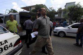 video: detenido jose daniel ferrer para impedirle sumarse a protesta nacional