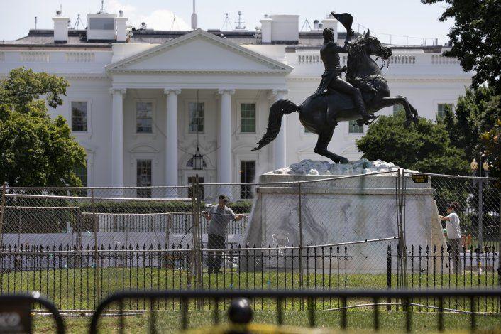 EEUU: Departamento de Seguridad Nacional protegerá estatuas
