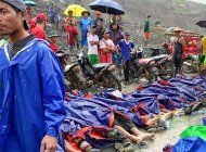 son ya 162 muertos por deslave en mina de jade de myanmar
