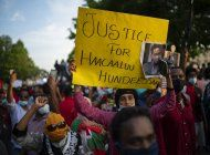 80 muertos en disturbios en etiopia