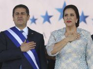 presidente hondureno deja hospital; fue tratado por covid