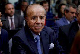 aun hospitalizado, expresidente menem cumple 90 anos