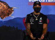 hamilton critica a equipos rivales por no hablar del racismo
