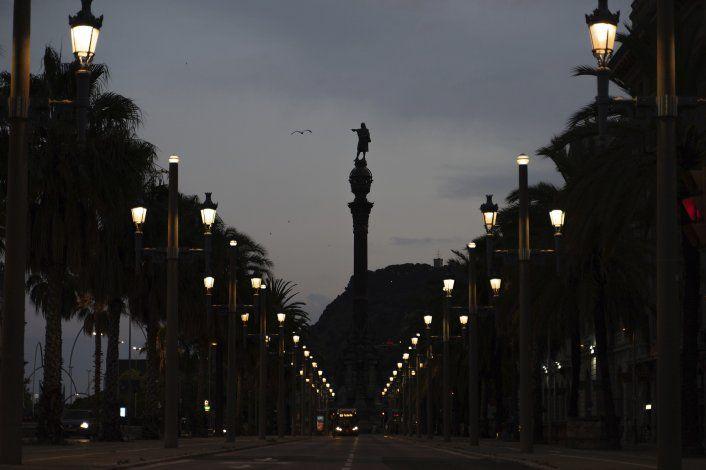 Entrevista AP: Barcelona debate estatua de Colón