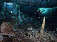hallan antigua mina de ocre en cuevas submarinas de mexico