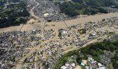 Fuertes lluvias anegan sur de Japón, causan 2 muertos