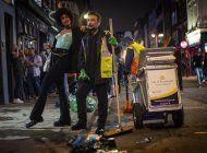 reapertura de bares en inglaterra no abruma a policias