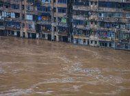 lluvias e inundaciones dejan al menos 120 muertos en china