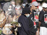 miles protestan contra el racismo en australia