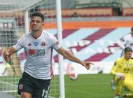 sheffield united rescata empate ante burnley en la premier
