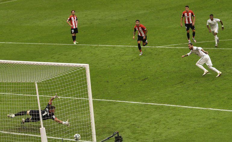Penal de Ramos acerca al Real Madrid al título