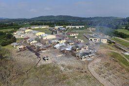 6 muertos en explosion de fabrica de pirotecnia en turquia