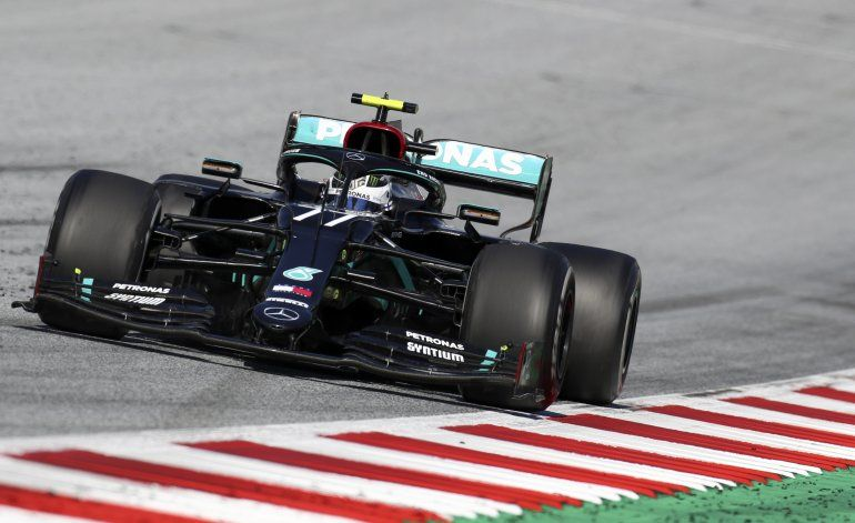 Bottas gana un accidentado GP de Austria, Hamilton 4to