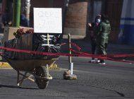 cuerpos esperan dias para ser enterrados en bolivia