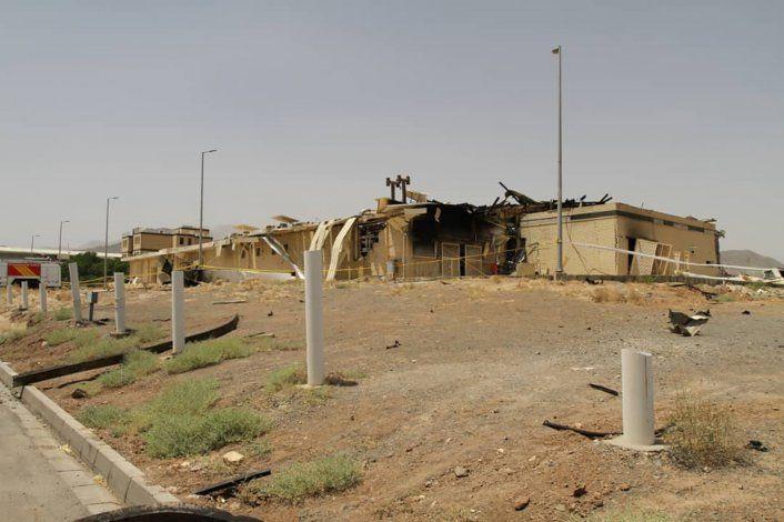 Irán: sitio nuclear dañado sí era para hacer centrifugadoras