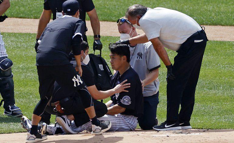 Tanaka luce bien a su regreso a Yankee Stadium tras pelotazo