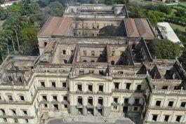 brasil: concluye investigacion de incendio en museo nacional