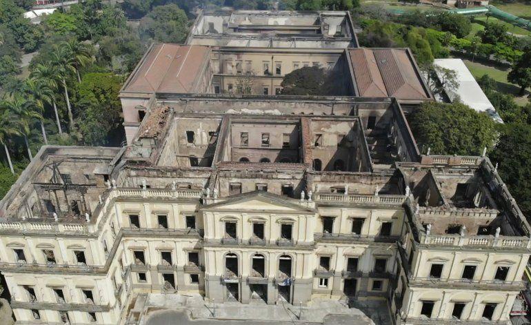 Brasil: Concluye investigación de incendio en Museo Nacional