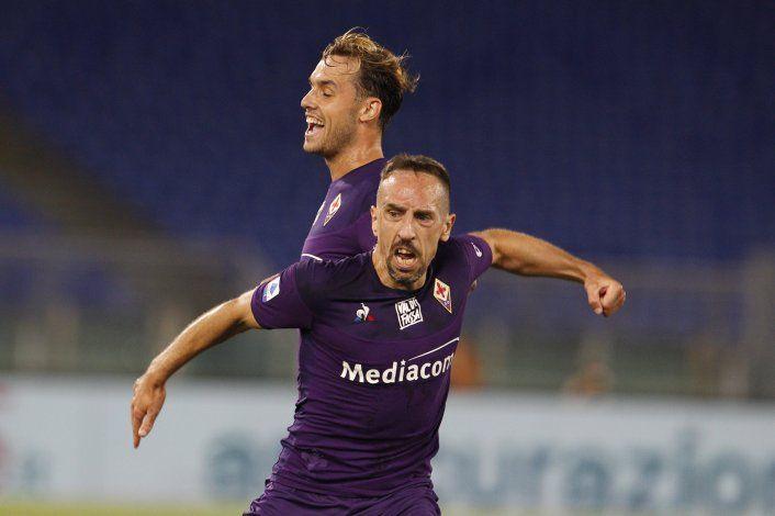 Ribery denuncia robo en su casa de Italia