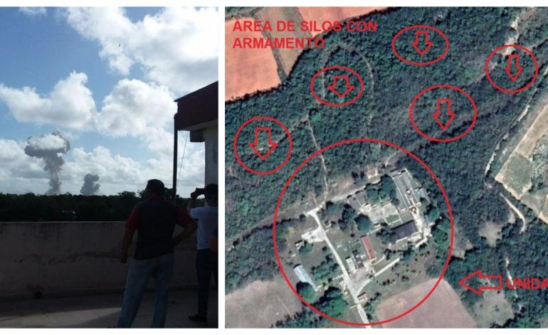 Reportan hasta 13 heridos en fuerte explosión cerca de base Militar en la provincia de Holguín, Cuba