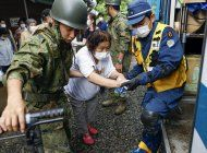 suman 40 muertos en japon por fuertes lluvias e inundaciones