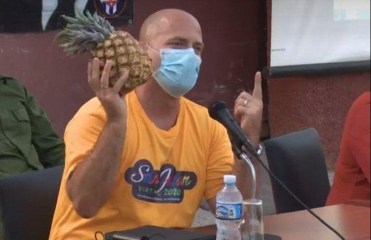 Gerardo Hernández llama a sembrar piña y calabazas en todos los CDR
