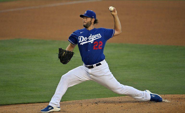 Kershaw abrirá temporada por novena ocasión con los Dodgers