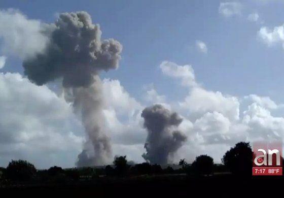 Explosiones en unidad militar en Holguín, continuaron por segundo día consecutivo