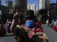 maestros bolivianos protestan contra la educacion virtual