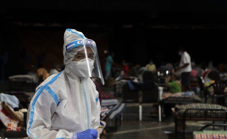 Aumenta la tasa de contagio de COVID-19 en la India