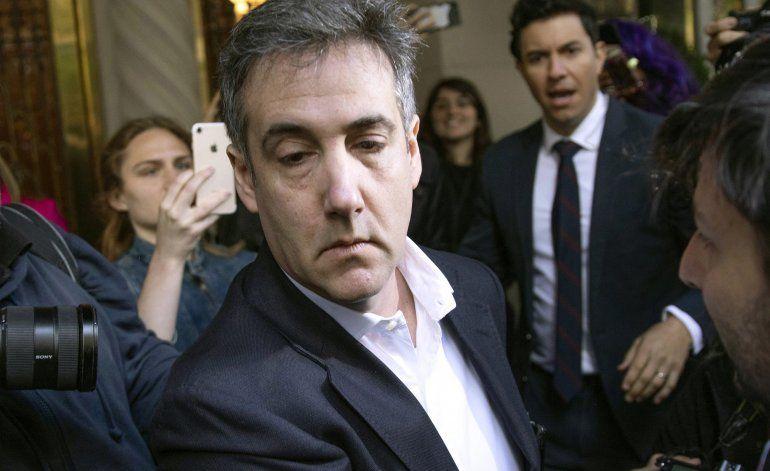 Michael Cohen, exabogado personal de Trump, vuelve a prisión