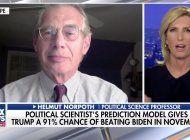 trump tiene 91% de posibilidades de ganar las elecciones, segun modelo de un profesor