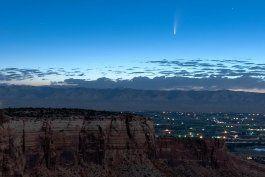 cometa brinda gran espectaculo al pasar cerca de la tierra