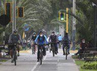 limenos ven en la bicicleta una opcion en medio de pandemia