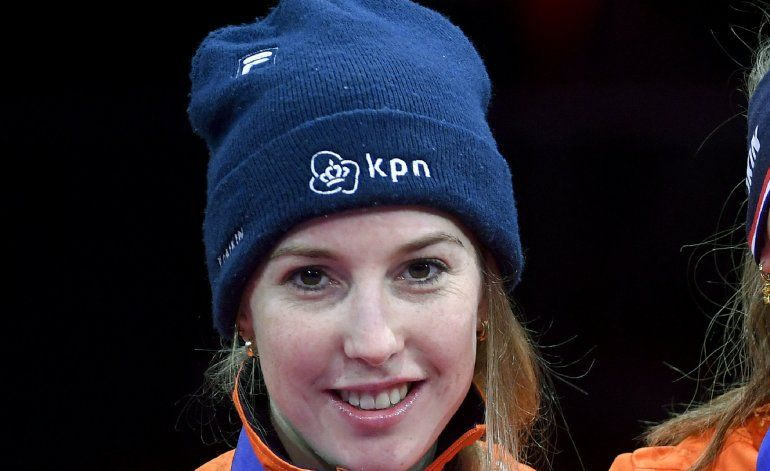 Muere Van Ruijven, campeona mundial de patinaje de velocidad